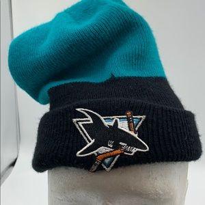 NHL San Jose Sharks beanie hat one size